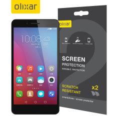Olixar Huawei Honor 5X Screen Protector 2-in-1 Pack