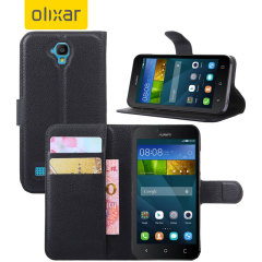 Olixar Huawei Y5 Wallet Case - Black