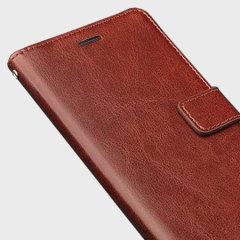 Olixar Huawei Y6 Wallet Case - Brown