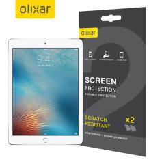 Olixar iPad 9.7 / iPad Air 2 Screen Protector 2-in-1 Pack