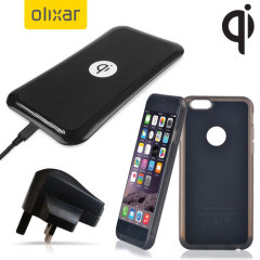 Olixar iPhone 6 Plus Qi Wireless Charging Starter Pack