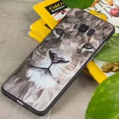 Olixar Majestic Lion Samsung Galaxy S8 Plus Mosaic-Style Gel Case