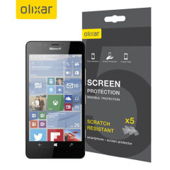 Olixar Microsoft Lumia 950 Screen Protector 5-in-1 Pack