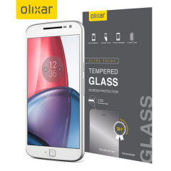 Olixar Moto G4 Plus Tempered Glass Screen Protector