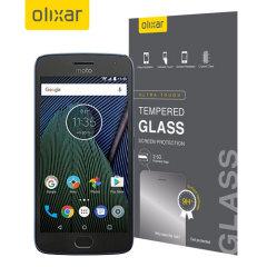 Olixar Motorola Moto G5 Plus Tempered Glass Screen Protector