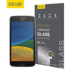 Olixar Motorola Moto G5 Tempered Glass Screen Protector