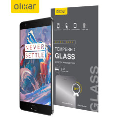 Olixar OnePlus 3T / 3 Tempered Glass Screen Protector