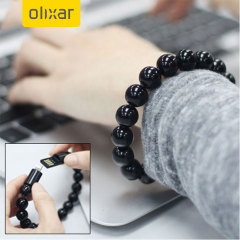 Olixar Power Bracelet Lightning Cable - Black