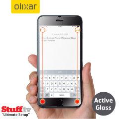 Olixar Quicktap iPhone 6 Plus Tempered Glass Screen Protector