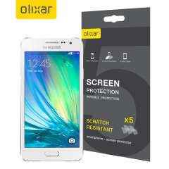 Olixar Samsung Galaxy A3 2015 Screen Protector 5-in-1 Pack