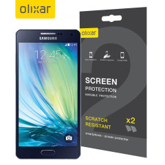 Olixar Samsung Galaxy A5 2015 Screen Protector 2-in-1 Pack