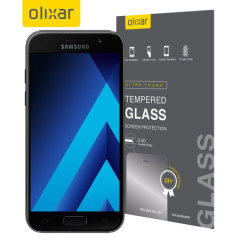 Olixar Samsung Galaxy A5 2017 Tempered Glass Screen Protector