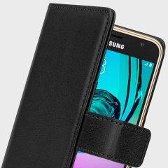 Olixar Samsung Galaxy J3 Wallet Case - Black