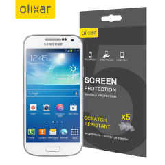 Olixar Samsung Galaxy S4 Mini Screen Protector 5-in-1 Pack