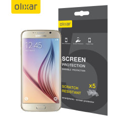 Olixar Samsung Galaxy S6 Screen Protector 5-in-1 Pack