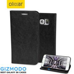 Olixar Samsung Galaxy S6 Wallet Case - Black