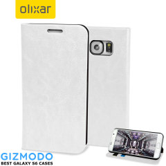 Olixar Samsung Galaxy S6 Wallet Case - White