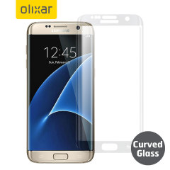 Olixar Samsung Galaxy S7 Edge Curved Glass Screen Protector