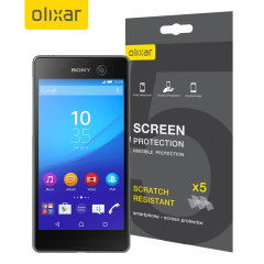 Olixar Sony Xperia M5 Screen Protector 5-in-1 Pack