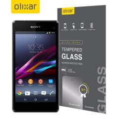 Olixar Sony Xperia Z1 Compact Tempered Glass Screen Protector