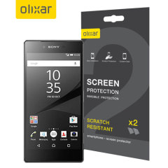 Olixar Sony Xperia Z5 Premium Screen Protector 2-in-1 Pack