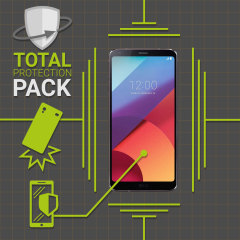 Olixar Total Protection LG G6 Case & Screen Protector Pack