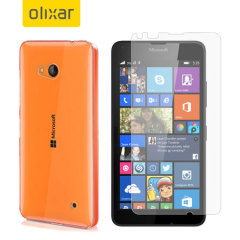 Olixar Total Protection Microsoft Lumia 640 Case & Screen Protector