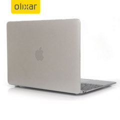 Olixar ToughGuard Crystal MacBook 12 inch Hard Case - Clear