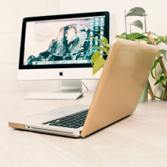 Olixar ToughGuard MacBook Pro 13 inch Hard Case - Champagne Gold