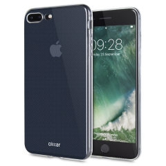 Olixar Ultra-Thin iPhone 7 Plus Gel Case - Crystal Clear