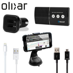Olixar Universal In Car Pack for Lightning & Micro USB devices