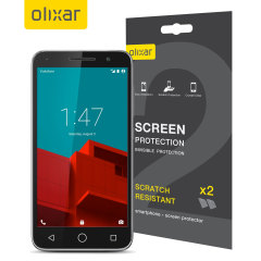 Olixar Vodafone Smart Prime 6 Screen Protector 2-in-1 Pack