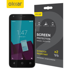 Olixar Vodafone Smart Speed 6 Screen Protector 2-in-1 Pack