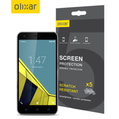 Olixar Vodafone Smart Ultra 6 Screen Protector 5-in-1 Pack