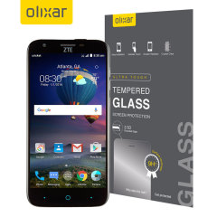 Olixar ZTE Grand X3 Tempered Glass Screen Protector