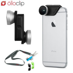 olloclip 4-in-1 iPhone 6 / 6 Plus Lens Kit - Silver/Black