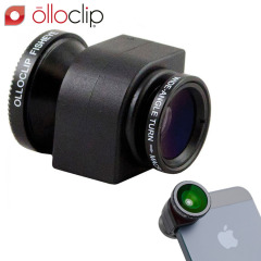 olloclip iPhone 5S / 5 Fisheye, Wide-angle, Macro Lens Kit - Black