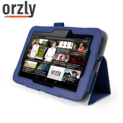 Orzly Tesco Hudl Smart Case - Navy Blue