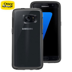 OtterBox Symmetry Clear Samsung Galaxy S7 Edge Case - Black
