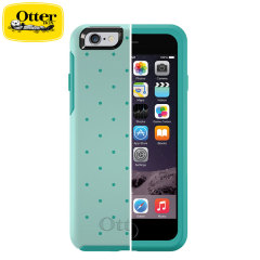 OtterBox Symmetry iPhone 6 Case - Aqua Dot II