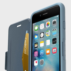 OtterBox Symmetry iPhone 6S / 6 Folio Wallet Case - Blue