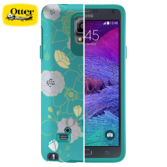 OtterBox Symmetry Samsung Galaxy Note 4 Case - Eden Teal