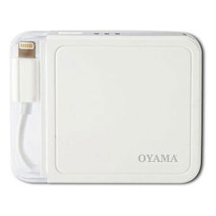 Oyama 1500mAh Lightning Portable Charger