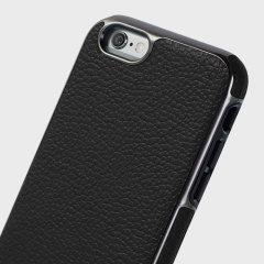 Patchworks Level Prestige iPhone 6S / 6 Genuine Leather Case - Black