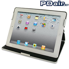 PDair Aluminium Metal Case For iPad 2 - Silver
