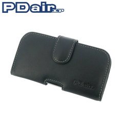 PDair Horizontal Leather Pouch Case for HTC Desire 500 - Black