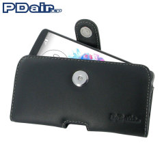 PDair Horizontal LG G3 Leather Pouch Case - Black