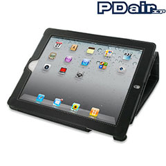 PDair Leather Book Case - iPad 2