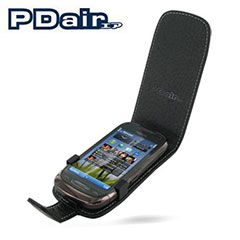 PDair Leather Flip Case - Nokia C7