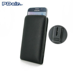 PDair Samsung Galaxy S6 Leather Vertical Pouch Case with Belt Clip